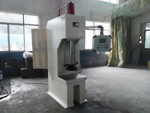 Servo Drive C Type Hydraulic Power Press Machine 125T Capacity